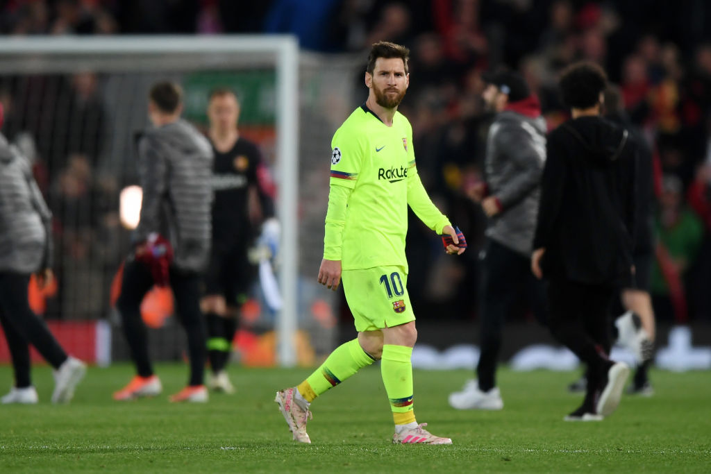 Lionel Messi: Louis Van Gaal blasts Barcelona Skipper over Champions League failure