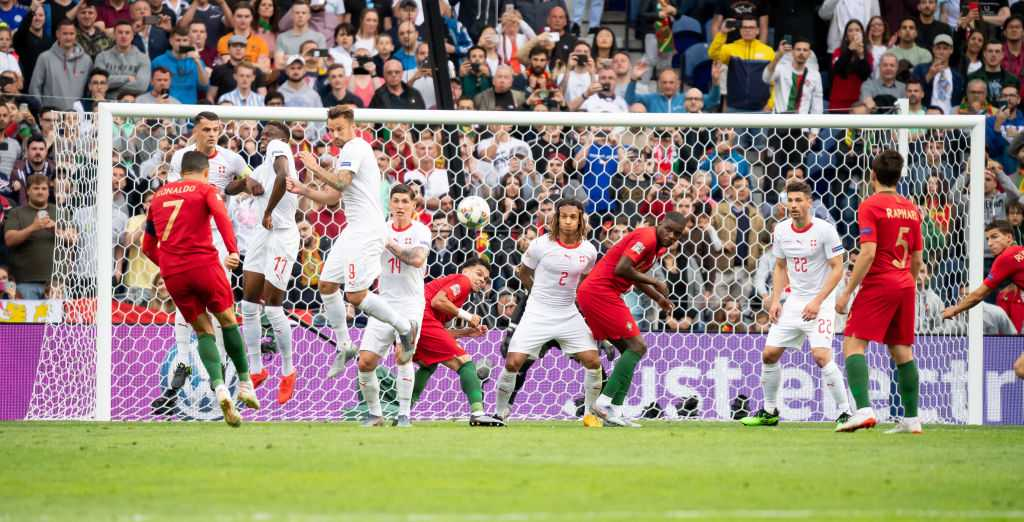 Cristiano Ronaldo goal Vs Switzerland: Watch Portugal Skipper scoring a tremendous free-kick to give lead