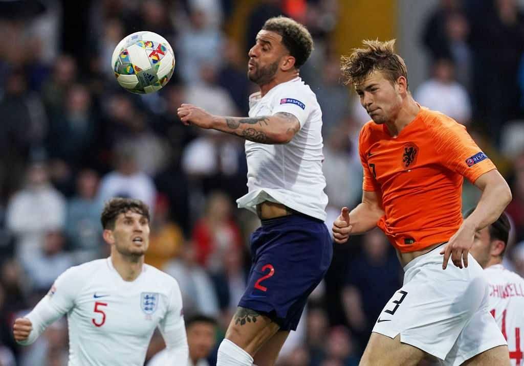 Matthijs De Ligt goal Vs England: Watch De Ligt equalize score against England in Nations league semi-final