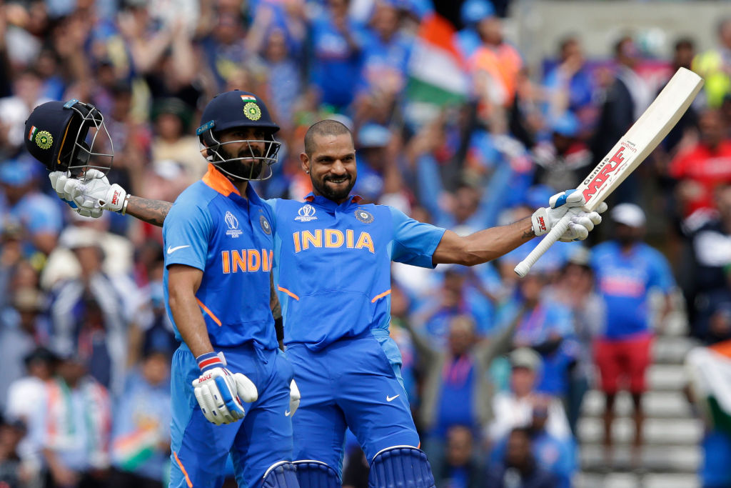 Shikhar Dhawan injury update: Virat Kohli provides update on Dhawan's availability for remainder of Cricket World Cup 2019