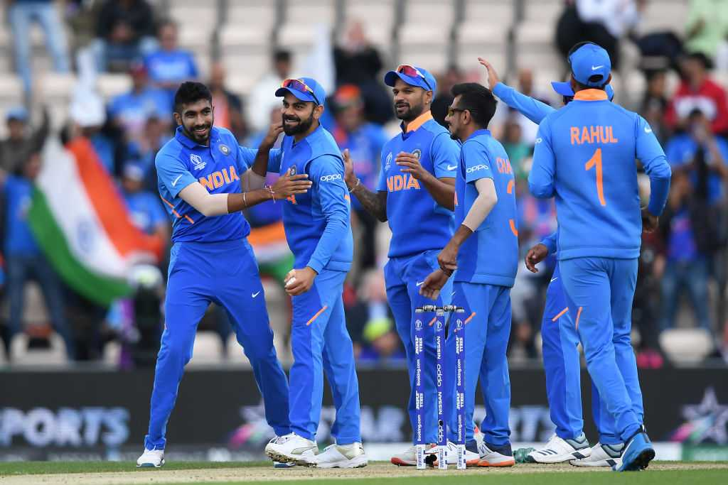 WATCH: Jasprit Bumrah dismisses Hashim Amla to pick up his first World Cup wicket; Rohit Sharma dances in celebration