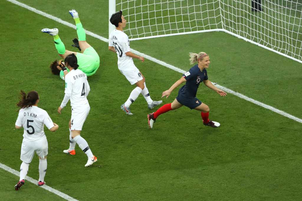 Le Sommer goal Vs South Korea: Watch French striker score first goal of Women's World Cup 2019