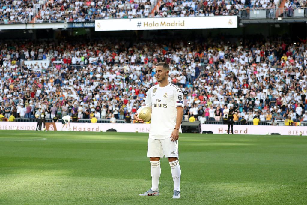 Eden Hazard unveiled: Watch official presentation of Hazard by Real Madrid