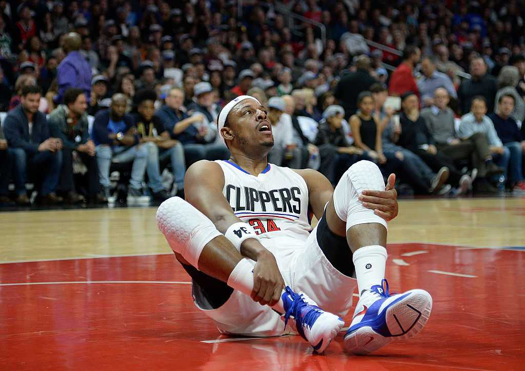 Paul Pierce confirms pooping conspiracy with wheelchair confession