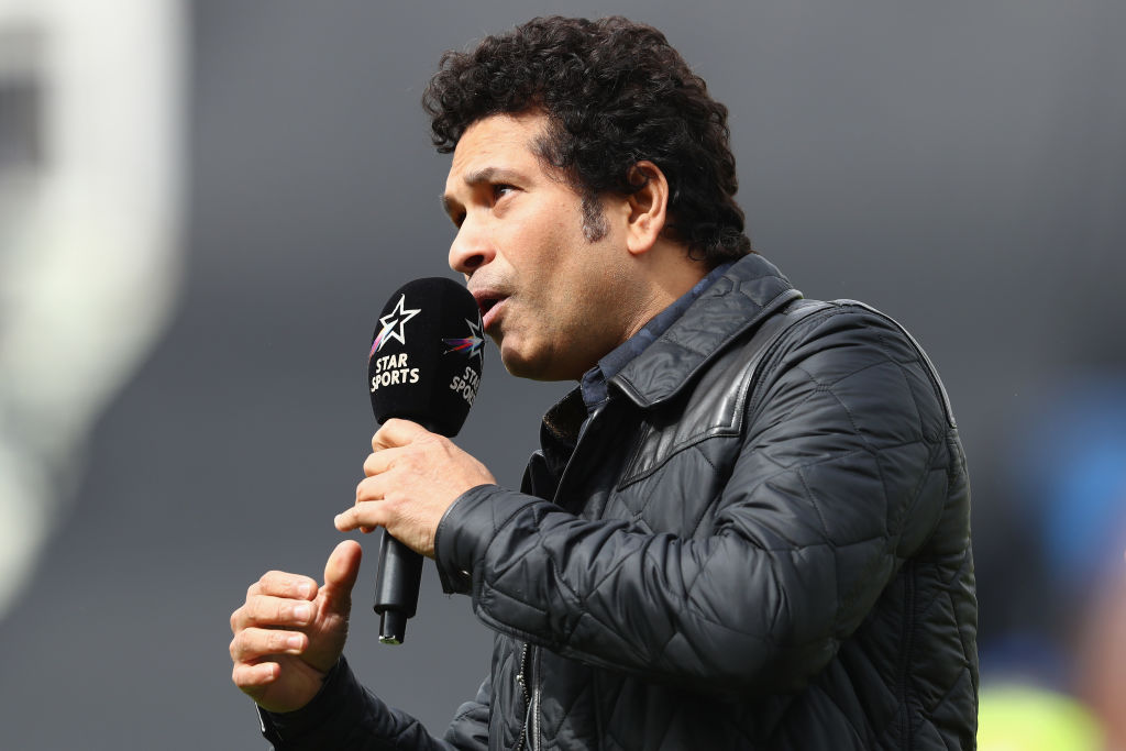 Sachin Tendulkar praises MS Dhoni's last over heroics and overall knock vs West Indies at Manchester   Cricket World Cup 2019