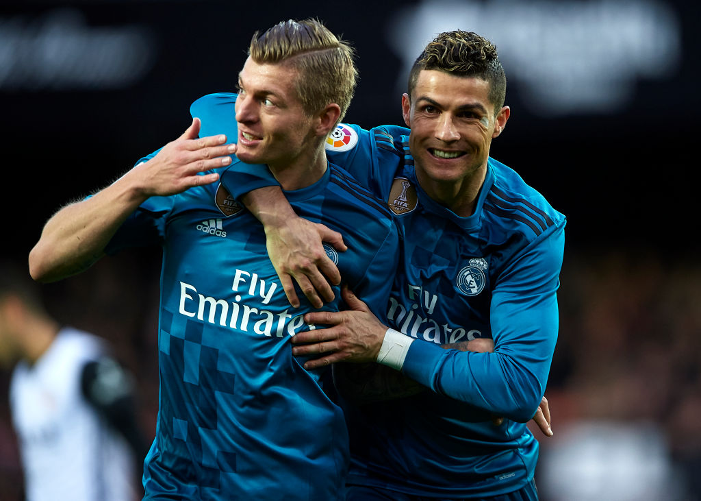 Cristiano Ronaldo: Toni Kroos says Ronaldo transfer made everyone happy at Real Madrid