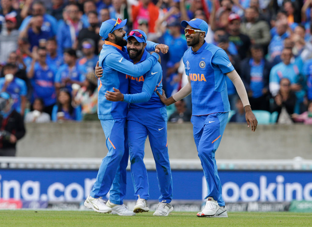 Who is playing at Number 4 for India during India vs Pakistan 2019 World Cup match?