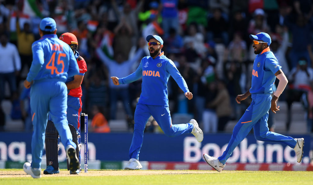 Twitter reactions on Mohammed Shami's hat-trick as India win vs Afghanistan in 2019 Cricket World Cup