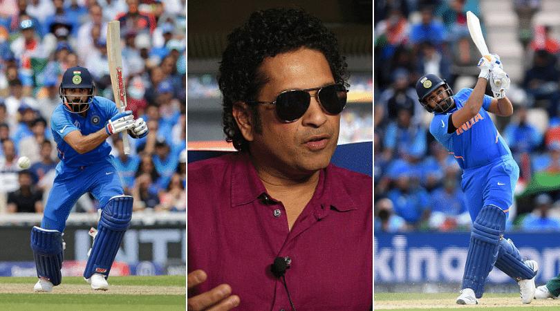 Sachin Tendulkar advises Virat Kohli and Rohit Sharma on how to play Mohammad Amir during India vs Pakistan 2019 World Cup match