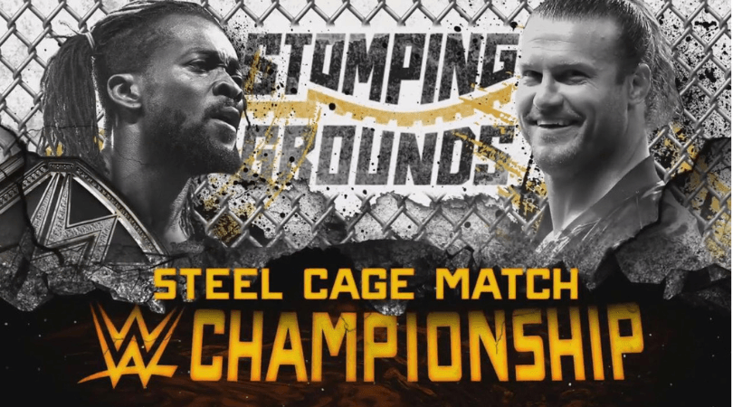 WWE Stomping Grounds: Dolph Ziggler will face Kofi Kingston inside a steel cage for the WWE Championship.