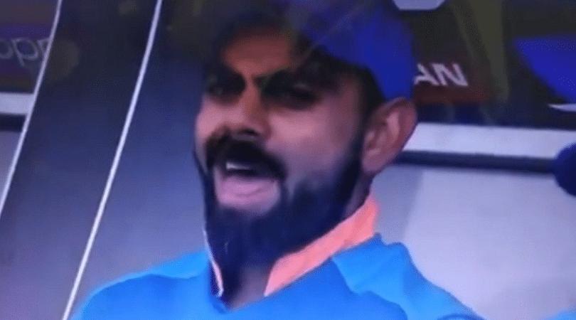 WATCH: Virat Kohli imitates Sarfaraz Ahmed in front of Kuldeep Yadav in Indian dugout