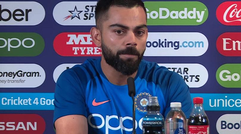 WATCH: Virat Kohli bats for Vijay Shankar ahead of England vs India ICC World Cup 2019 clash