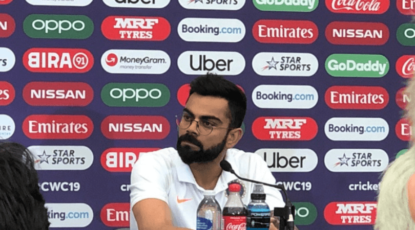 Virat Kohli: Indian captain replies to Kagiso Rabada's 'immature' comment   Cricket World Cup news