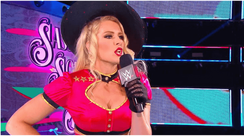 Lacey Evans: The Marine Corps saved me as far as getting my mind clear