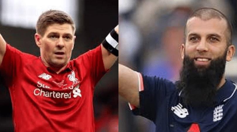 Steven Gerrard sends English Cricketer Moeen Ali a congratulatory video ahead of his 100th ODI match
