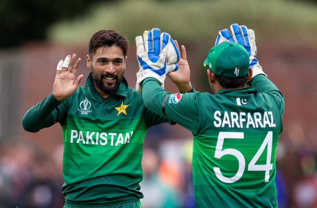 WATCH: Mohammad Amir celebrates jubilantly post registering maiden five-wicket haul vs Australia in 2019 Cricket World Cup