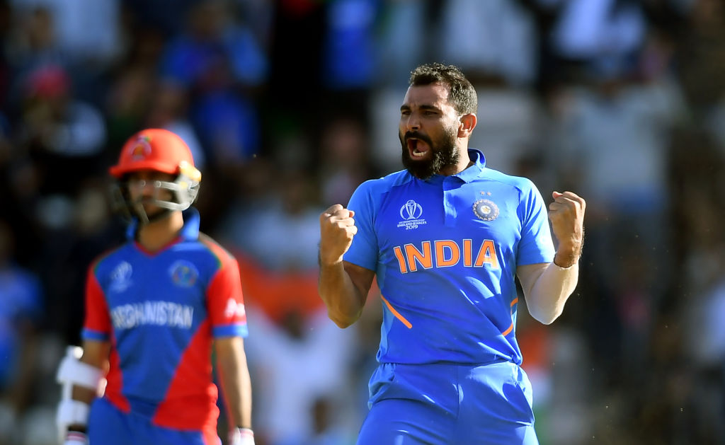 WATCH: Mohammad Shami grabs hat-trick vs Afghanistan in ICC Cricket World Cup 2019