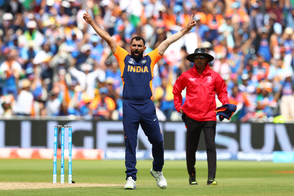 Twitter reactions on Mohammed Shami's maiden five-wicket haul vs England in 2019 Cricket World Cup