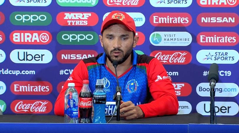 Gulbadin Naib gives hilarious warning to Bangladesh ahead of next 2019 Cricket World Cup match