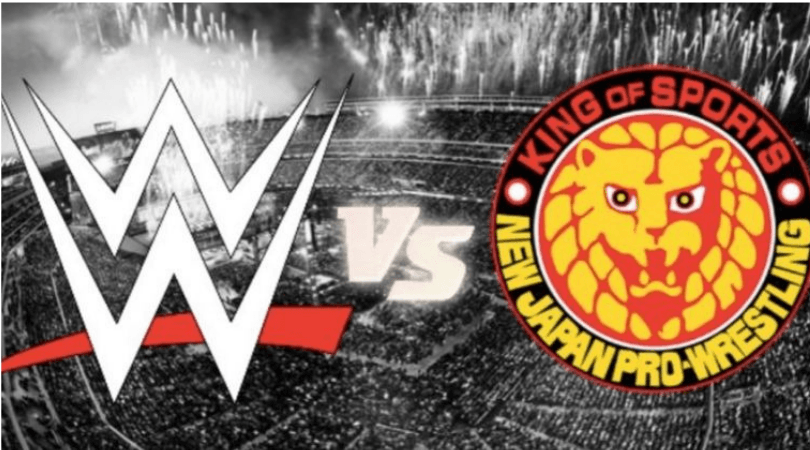 NJPw Vs WWE: NJPW take a dig at WWE on Twitter