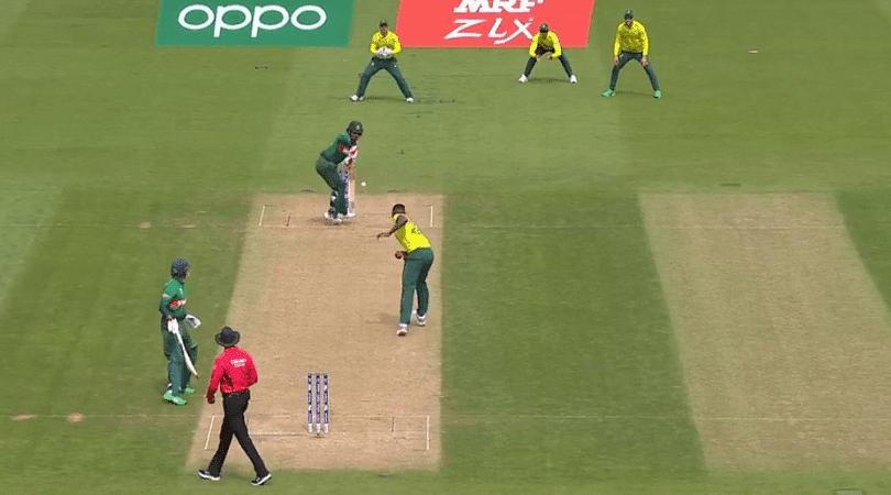 Tamim Iqbal: Watch Bangladesh batsman defends wild throw from Lungi Ngidi in South Africa vs Bangladesh 2019 World Cup match