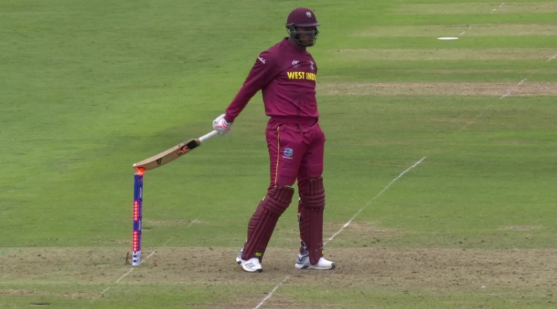 WATCH: Oshane Thomas survives hit-wicket appeal despite hitting the stumps with bat vs Bangladesh | 2019 Cricket World Cup