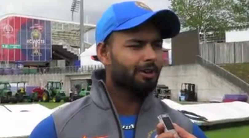 WATCH: Rishabh Pant reveals his reaction after being included in 2019 World Cup team as Shikhar Dhawan's replacement
