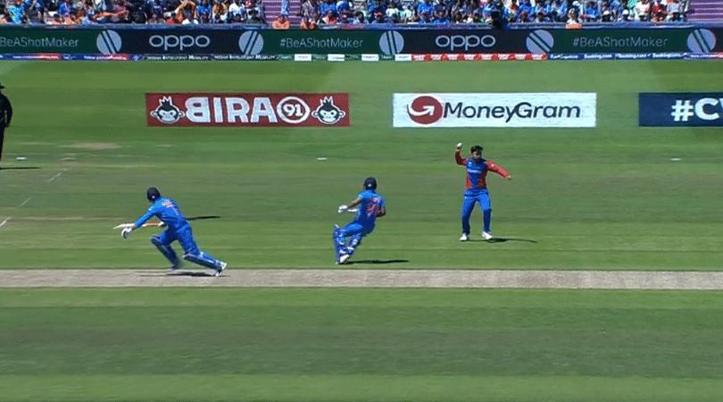 WATCH: Rashid Khan commits howler vs India; misses simple run-out to dismiss Kedar Jadhav