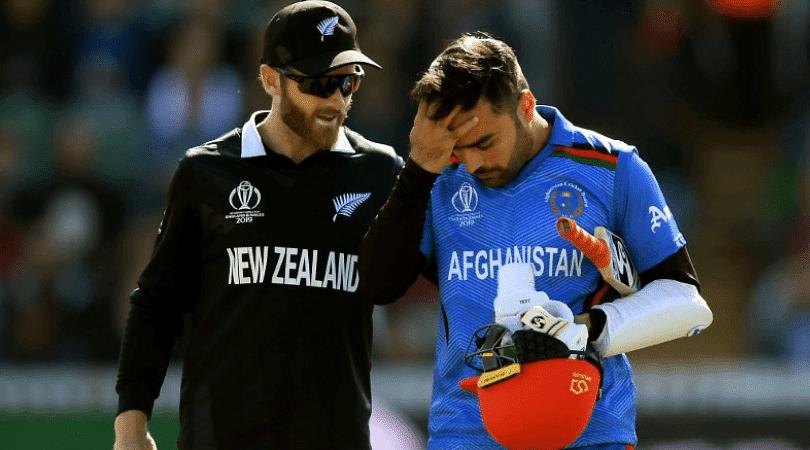 Rashid Khan injury: Why is Rashid Khan not bowling vs New Zealand in 2019 Cricket World Cup?