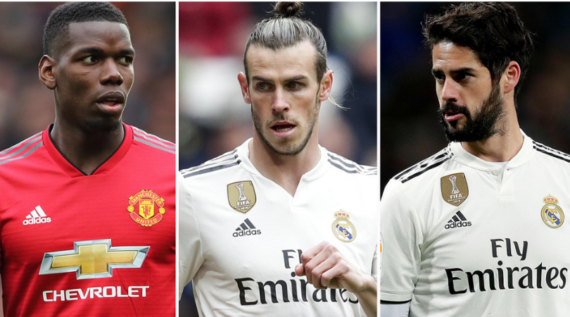 Paul Pogba Transfer News: Real Madrid could offer Isco or Bale to Man Utd as part of their Pogba deal