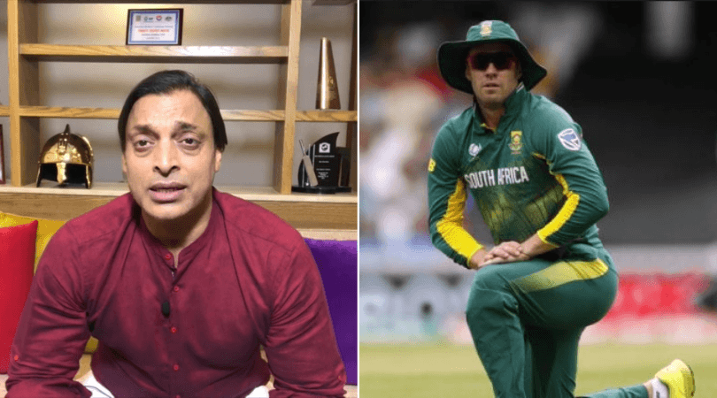 'AB de Villiers should be a man': Watch Shoaib Akhtar slams de Villiers on wanting to play 2019 World Cup