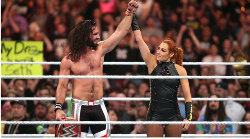 Seth Rollins and Becky Lynch vs Baron Corbin and Lacey Evans announced for Extreme Rules 2019