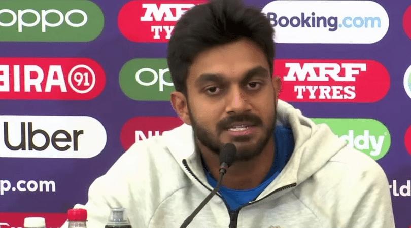 WATCH: Vijay Shankar opens up on Hardik Pandya batting above him in the ongoing ICC Cricket World Cup 2019