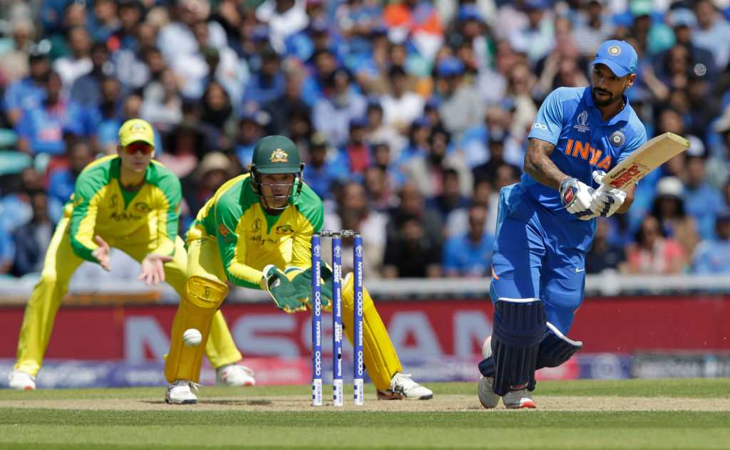 Twitter reactions on Shikhar Dhawan's magnificent century vs Australia in ICC Cricket World Cup 2019