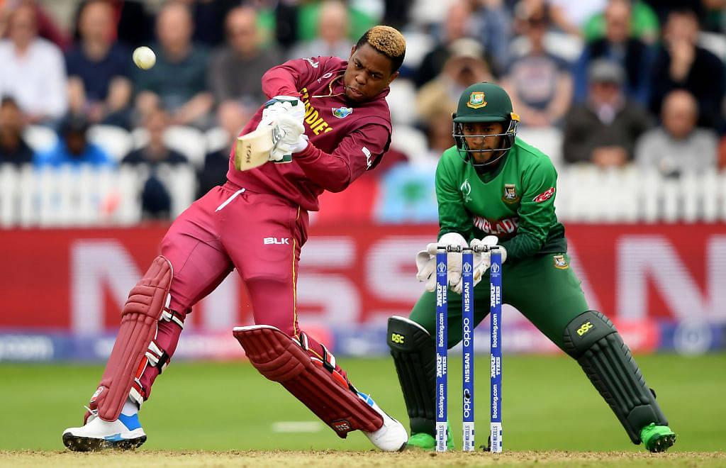 WATCH: Shimron Hetmyer hits 104m six off Mosaddek Hossain during West Indies vs Bangladesh 2019 World Cup match