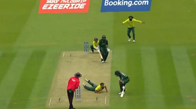 WATCH: Imran Tahir grabs one-handed stunner vs Pakistan in ICC Cricket World Cup 2019