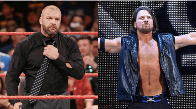 AJ Styles: Triple H is set to team up with 'The Phenomenal one' at WWE's tour of Japan.