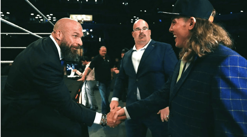 Matt Riddle: Triple H says he's open to Matt Riddle fighting in the UFC