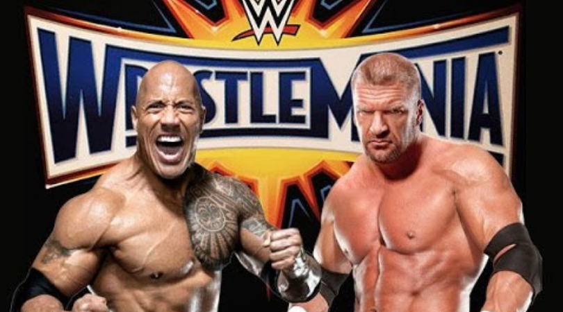 Triple H reveals that he was supposed to face The Rock at Wrestlemania 32