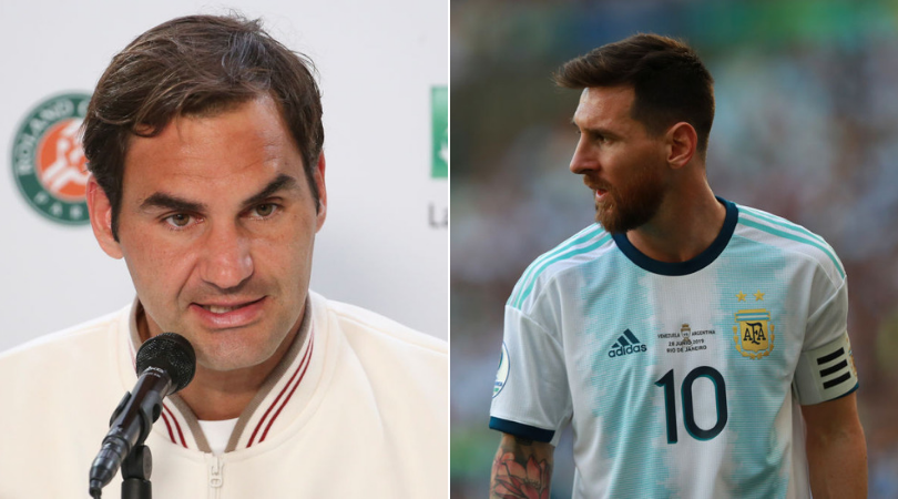 Roger Federer compliments Lionel Messi by labelling him 'Greatest of All Time'