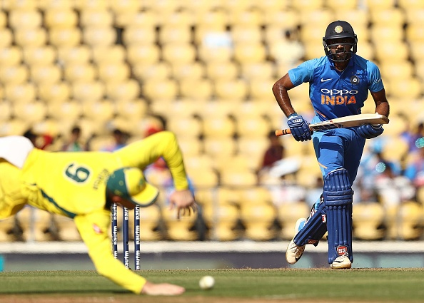 Vijay Shankar Injury: Indian all-rounder suffers injury scare after being hit by Jasprit Bumrah's yorker