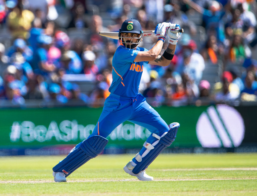 Virat Kohli becomes first Indian captain to score four consecutive 50+ scores in Cricket World Cup