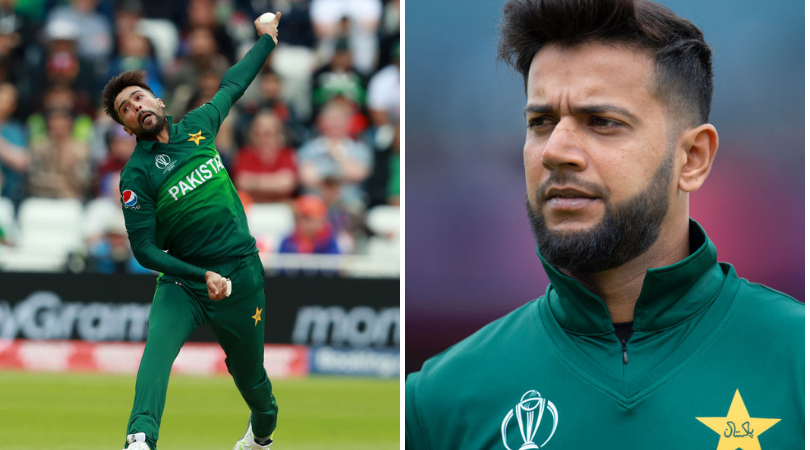 Mohammad Amir and Imad Wasim promoting groupism in Pakistan Team, reports suggest | Cricket World Cup 2019