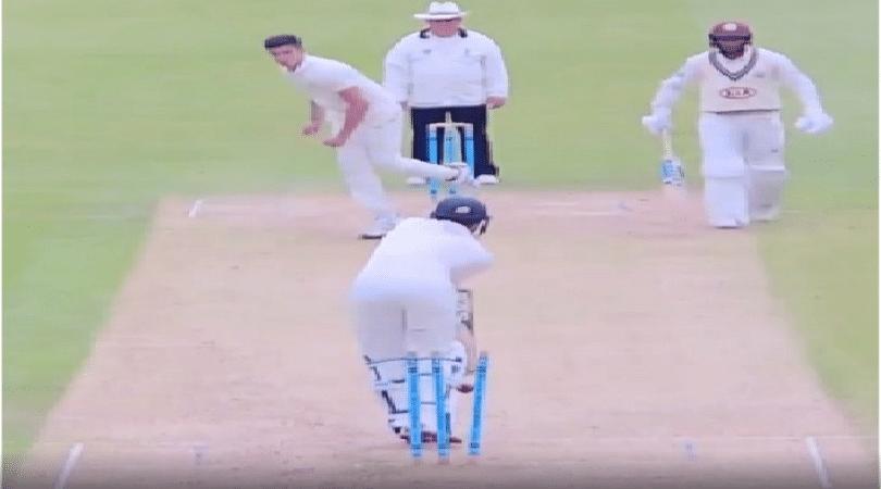 WATCH: Arjun Tendulkar bowls an absolute gem to dismiss Surrey opening batsman during Second XI championship in England