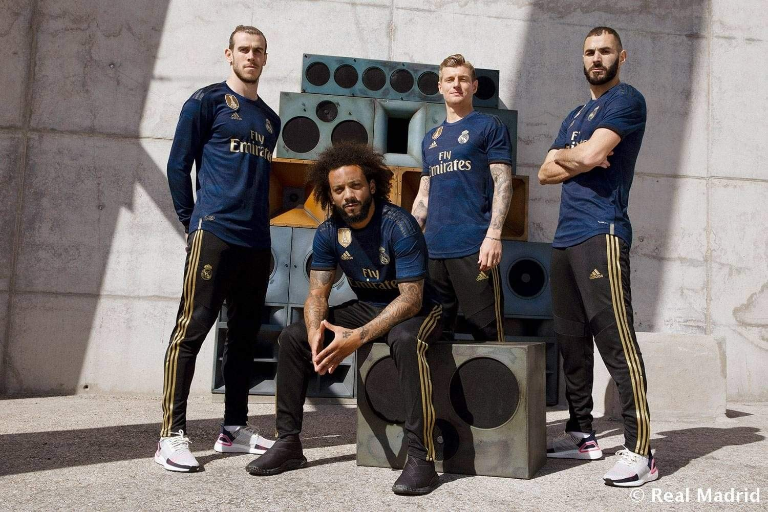 Real Madrid away kit revealed: Real Madrid give a tribute to fans with new away jersey