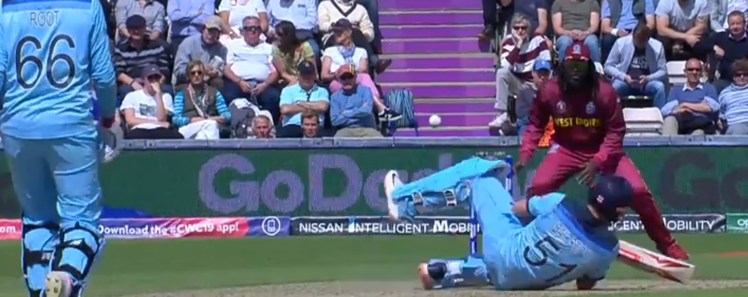 Jonny Bairstow hit on helmet: Watch England batsman get struck on helmet after a vicious bouncer by Andre Russell | England vs West Indies