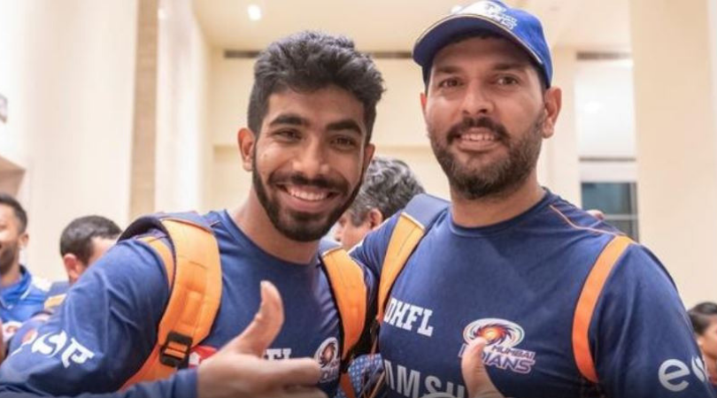 Jasprit Bumrah takes hilarious dig at Yuvraj Singh over his comments on former's endorsement of a face wash