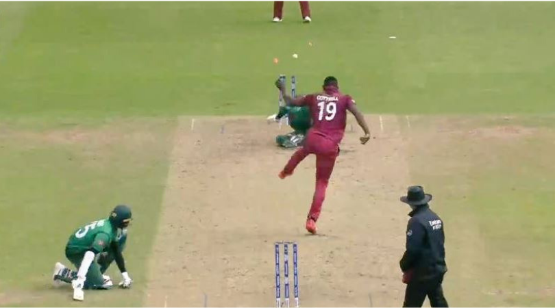 Sheldon Cottrell run out: West Indian bowler runs out Tamim Iqbal with amazing fielding display during West Indies vs Bangladesh match | Cricket World Cup 2019