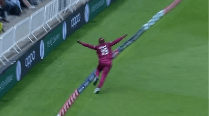Sheldon Cottrell catch to dismiss Steve Smith: WATCH West Indies pacer take an absolute blinder to dismiss Smith