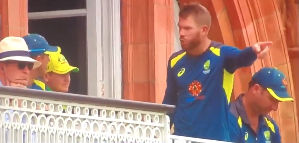 WATCH: Was David Warner arguing with Ricky Ponting after being dismissed vs England?   England vs Australia